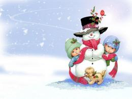 christmas desktop wallpaper 3d christmas desktop wallpaper snowman htm 169