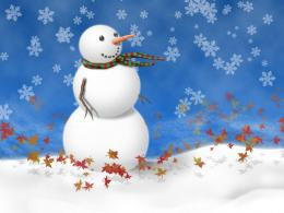 snowman on blue wallpapers 1609 1024Christmas Photography Desktop 500