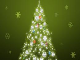 URL: http:www zwdzjs com photo christmas tree desktop wallpaper html 1696