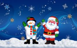 christmas snowman wallpaper christmas backgrounds snow backgrounds 748