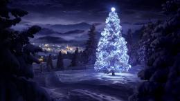 Christmas Tree Desktop HD Wallpaper 1080x607 White Christmas Tree 1032