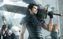 Final Fantasy Vii Crisis Core Game Fantasy Wide Hd Wallpaper 866