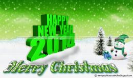 Happy New Year And Merry Christmas 2014 Wallpaper SMS Free Download 1956