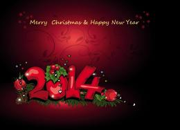 Happy New Year 2014 and Happy Christmas | HD Wallpapers Images 1449