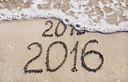 Happy New Year 2016 HD WallpapersBeach 1081