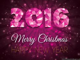 Merry Christmas and Happy New Year 2016 Wallpaper 420