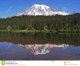 Download Hidden Lake Mount Rainier Landscape Mountain HD Wallpaper 507