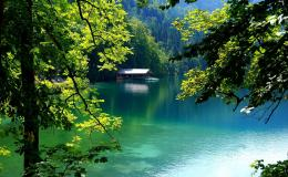 hidden lake hd wallpaper hidden lake nature scenery hidden lake 1024