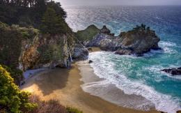 Mcway Falls, Julia Pfeiffer Burns State Park— Wallpaper #82259 1958