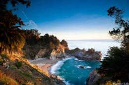 McWay Falls @ Julia Pfeiffer Burns State Park, California 1236