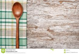 Kitchen Utensils On The Old Wood Background Stock ImageImage 563