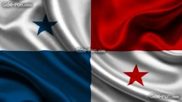 Download wallpaper panama, satin, flag, Panama free desktop wallpaper 621