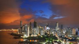 clouds, cityscapes, panama , city skyline wallpapers 1641
