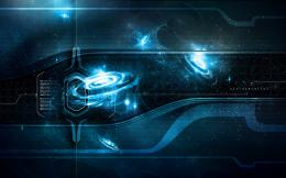 Wallpaper Ultraparallel Quasar Blue Hd Wallpapers, Desktop Wallpaper 1198