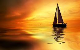 Sunset Sailboat Windows 8 Wallpaper hi resolution wallpaper image 462