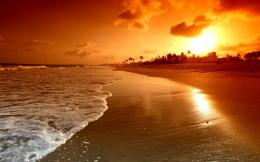 beach sunset widescreen hd wallpapers top hd images 1352