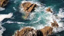 Waves Crashing Desktop Wallpapers 1477