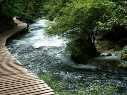 1280x960 Wooden Bridge One desktop PC and Mac wallpaper 1823