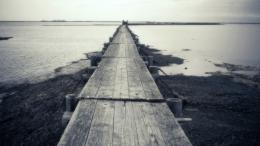 1920x1080 Wooden Bridge Through Ocean desktop PC and Mac wallpaper 1958