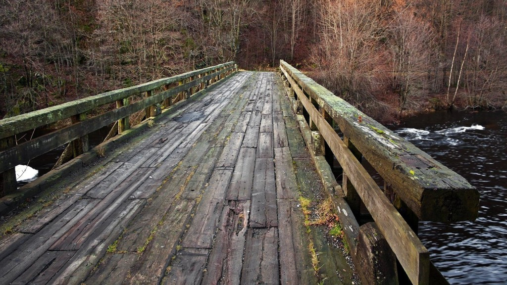 wooden bridge wallpaper - photo #4