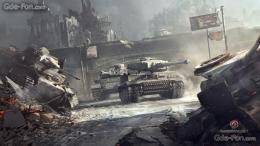 Download wallpaper world of tanks, Tanks, city free desktop wallpaper 213