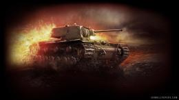 Description: Download World of Tanks KV 2 Heavy Tank Wallpaper 1404