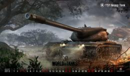 August Wallpaper | General News | World of Tanks 1545