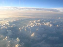 wallpaper view from above the clouds view from above the clouds 1046