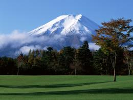 Amazing Fuji Mountain Scenery Wallpaper | Wallpaper ME 376