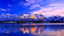 Amazing Mountain Scape Wallpaper 859
