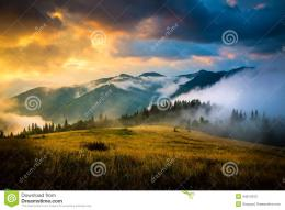 Amazing Mountain Landscape Stock PhotoImage: 44514073 135