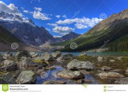 Large file size landscape of Consolation Lake in Banff National Park 1639