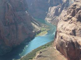 Life at 55 mph: Horseshoe Bend of the Colorado River in Page, Arizona 1223