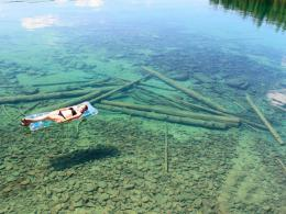 The Crystal Clear Water, Flathead Lake in Montana 997
