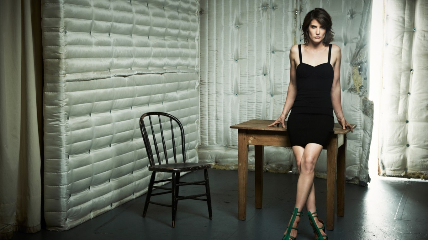 Celebrities » Hollywood Actress » Cobie smulders hd wallpaper 1648