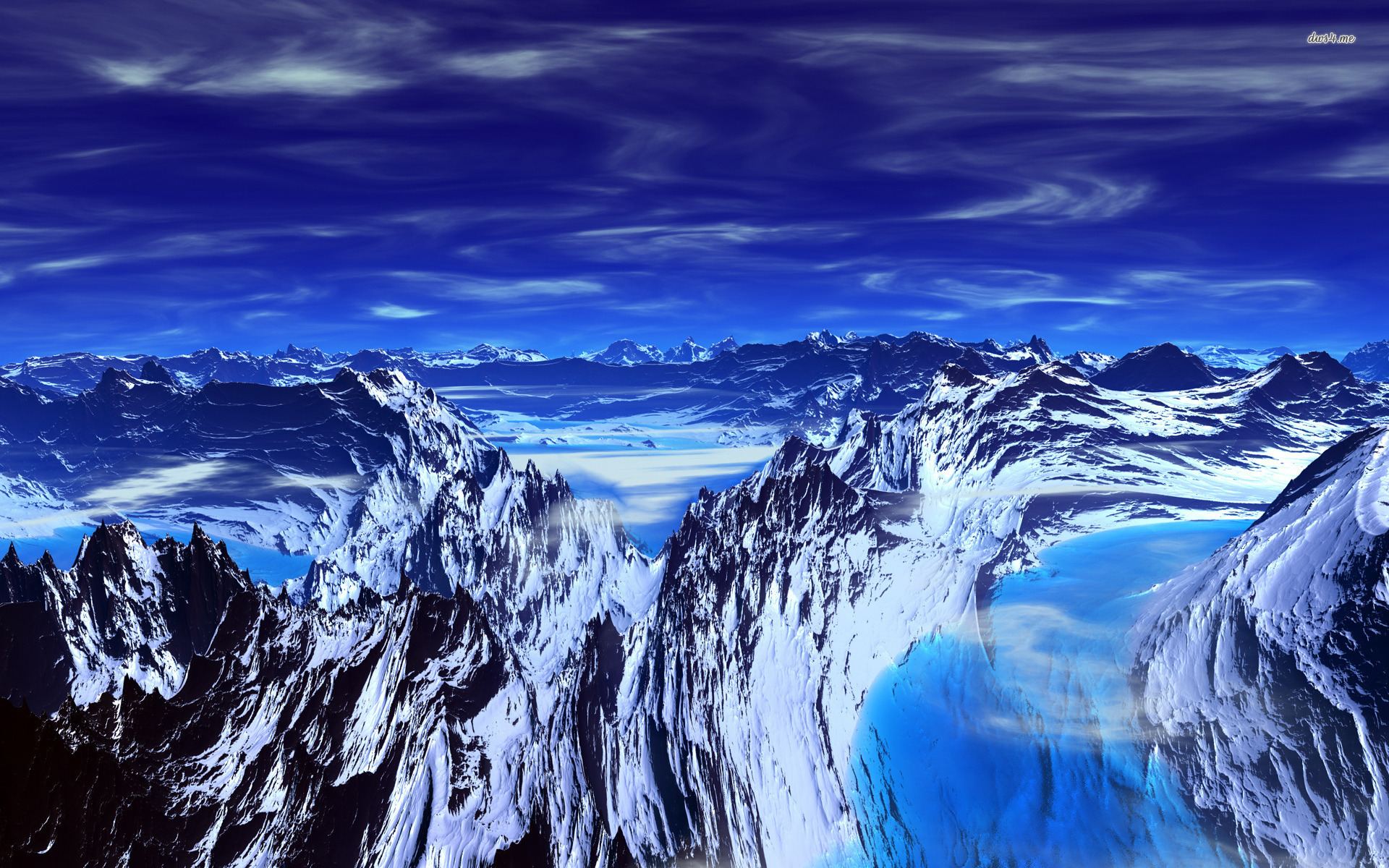 Icy Mountains HD wallpapers 420