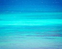 Turquoise Sea Photography Beach Art Print Blue by BeachBumChix 1657