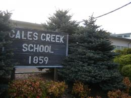 the vacant Gales Creek Elementary School next year under a plan Forest 1809