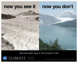 Change: Climate Resource CenterGraphic: Dramatic glacier melt 1286