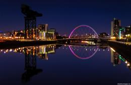 Glasgow Beautiful Scottish Evening Scotland Hd Desktop Wallpaper … 1244