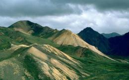 Green Alaskan Mountains Desktop Wallpaper Background Desktop Wallpaper 113