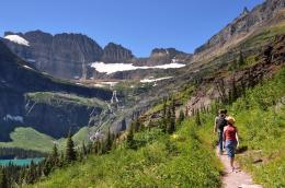 Photo of Montana : Glacier National Park : Grinnell Glacier trail 367
