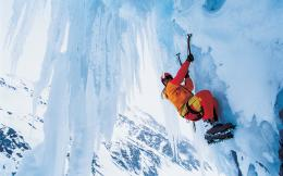 Ice Mountain Climbing Wallpaper HD Wallpaper with 1920x1200 Resolution 1765