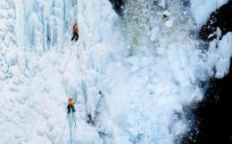 Ice Climbing Desktop Wallpapers 423