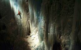 Wallpaper Abyss Explore the Collection Climbing Sports Ice Climbing 1702