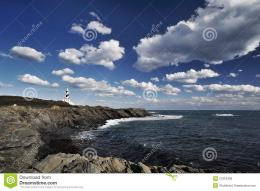 Lighthouse On The Cliff Royalty Free Stock ImagesImage: 27916499 808