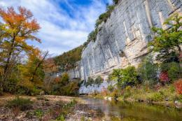Arkansas Photography–Midday autumn calm along the Buffalo River 1700