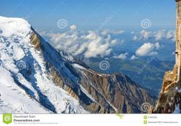 Steep Snowy Cliffs Swiss Alps Stock PhotoImage: 34652990 366