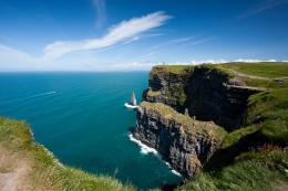 The Magnificent Cliffs of Moher – one slip and you're dead [41 1179