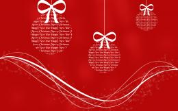 Merry Christmas Red HD Wallpaper 714